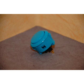 Sanwa Push Button OBSF-30-Blue